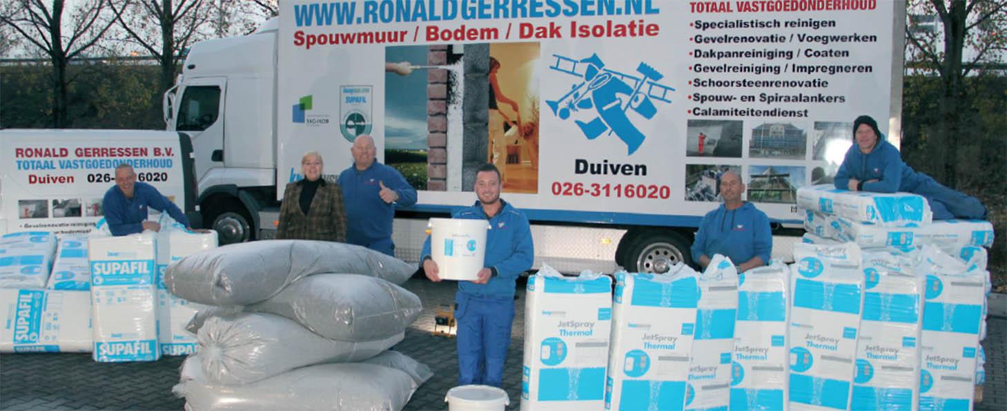 Het team van Ronald Gerressen B.V.